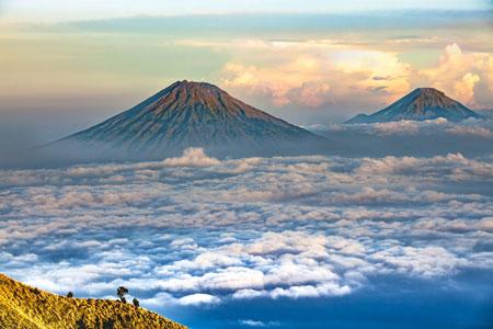 Gunung Di Indonesia Dengan Pemandangan Yang Indah - Gunung Sindoro