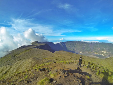 Gunung Di Indonesia Dengan Pemandangan Yang Indah - Gunung Tambora