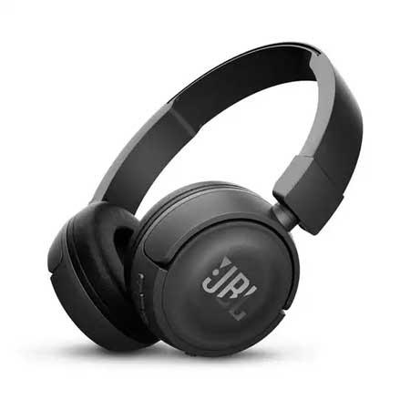 Headset Bluetooth Terbaik Dibawah 1 Juta - JBL Wireless On-Ear Headphone T450BT