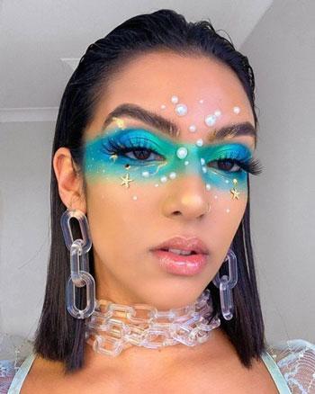 Inspirasi Art Makeup Unik dan Menawan