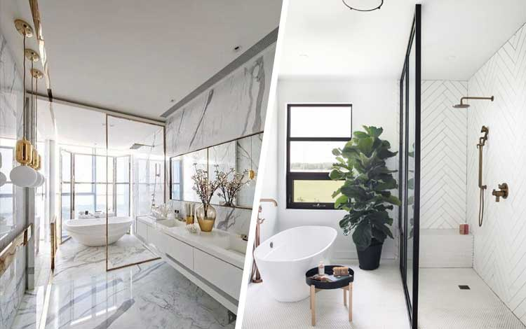 20 Inspirasi Desain Kamar Mandi Yang Simple Dan Elegan Blog Unik