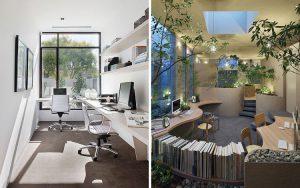 Inspirasi Desain Kantor Kecil Yang Nyaman