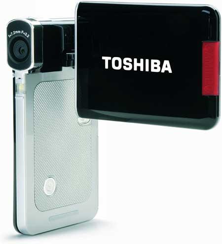 Kamera Vlog Terbaik Dan Murah 2020 - Kamera Toshiba Camileo S20