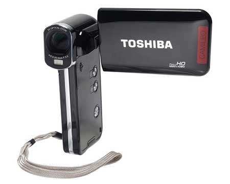 Kamera Vlog Terbaik Dan Murah 2020 - Toshiba Camileo P100
