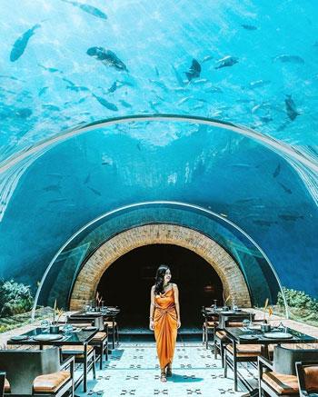 Koral Restoran Restoran Bawah Laut Pertama di Bali