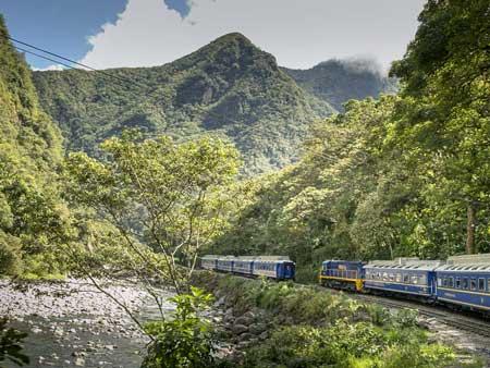 Lintasan Kereta Api Dengan Pemandangan Paling Indah Di Dunia - Belmond Hiram Bingham