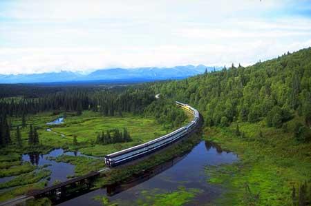 Lintasan Kereta Api Dengan Pemandangan Paling Indah Di Dunia - Denali Star dari Anchorage ke Fairbanks