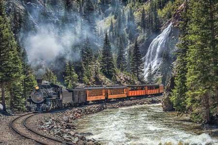 Lintasan Kereta Api Dengan Pemandangan Paling Indah Di Dunia - Durango & Silverton Narrow Gauge Railroad