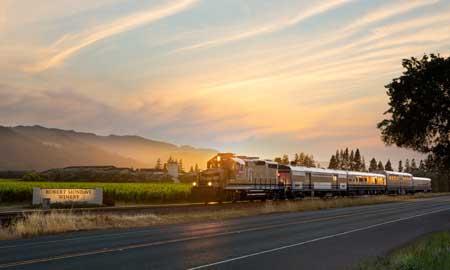 Lintasan Kereta Api Dengan Pemandangan Paling Indah Di Dunia - Napa Valley Wine Train dari Napa ke St Helena