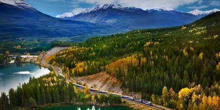 Lintasan Kereta Api Dengan Pemandangan Paling Indah Di Dunia - Rocky Mountaineer's First Passage to The West