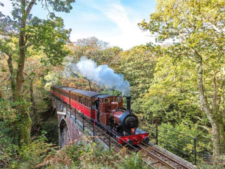 Lintasan Kereta Api Dengan Pemandangan Paling Indah Di Dunia - Talyllyn Railway