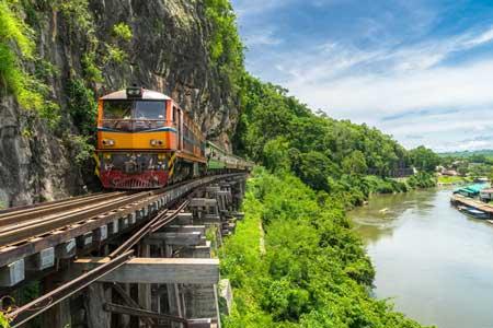 Lintasan Kereta Api Dengan Pemandangan Paling Indah Di Dunia - The Death Railway