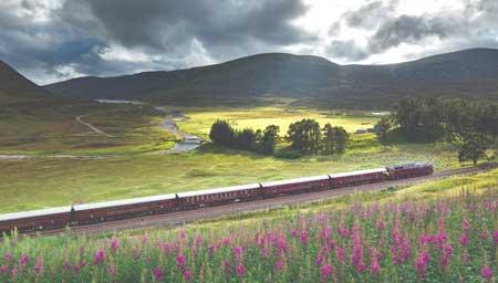 Lintasan Kereta Api Dengan Pemandangan Paling Indah Di Dunia - The Royal Scotsman