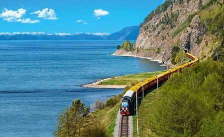 Lintasan Kereta Api Dengan Pemandangan Paling Indah Di Dunia - Trans-Siberian Railway