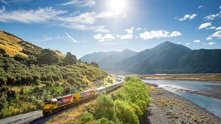 Lintasan Kereta Api Dengan Pemandangan Paling Indah Di Dunia - TranzAlpine