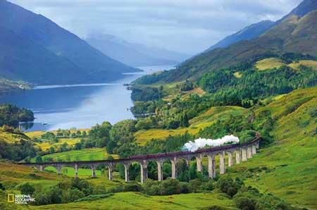Lintasan Kereta Api Dengan Pemandangan Paling Indah Di Dunia - West Highland Line