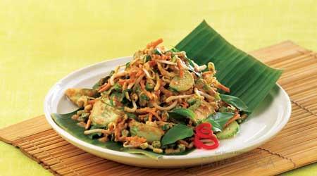 Makanan Khas Sunda Yang Lezat - Karedok