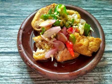 Makanan Khas Sunda Yang Lezat - Tahu Gejrot
