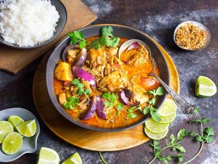 Makanan Terlezat Di Dunia - Massaman Curry