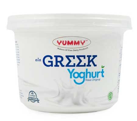 Makanan Yang Bagus Untuk Kesehatan Rambut - Greek Yogurt