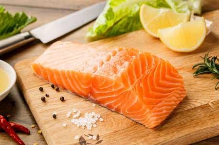 Makanan Yang Bagus Untuk Kesehatan Rambut - Ikan Salmon