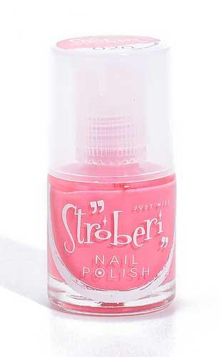 Merk Cat Kuku Yang Bagus - Just Miss Stroberi Nail Polish