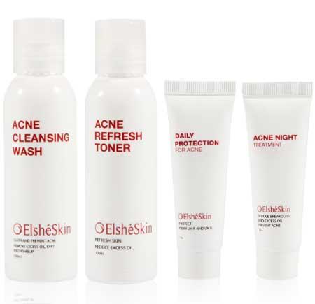 Merk Kosmetik Yang Aman Untuk Kulit Berjerawat - ElshéSkin Acne Skin Series