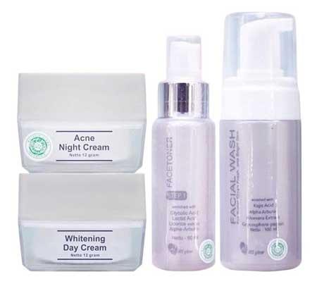 Merk Kosmetik Yang Aman Untuk Kulit Berjerawat - Ms Glow Acne Series