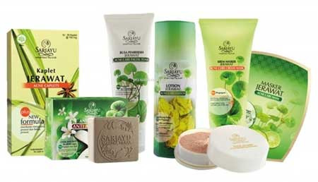 Merk Kosmetik Yang Aman Untuk Kulit Berjerawat - Sariayu Acne Series
