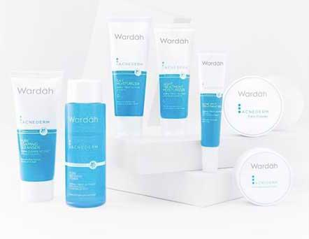 Merk Kosmetik Yang Aman Untuk Kulit Berjerawat - Wardah Acnederm