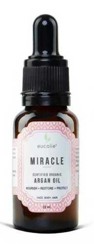 Merk Minyak Argan Terbaik - Eucalie Argan Oil Certified Organic