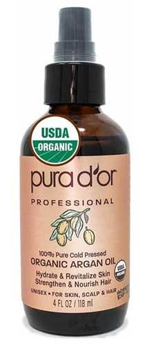 Merk Minyak Argan Terbaik - Pura d'or 4oz Gold Argan Oil