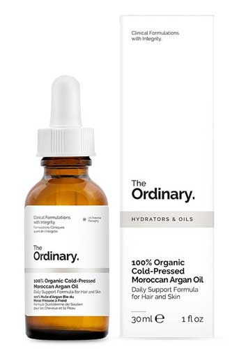 Merk Minyak Argan Terbaik - The Ordinary 100% Organic Cold-Pressed Moroccan Argan Oil