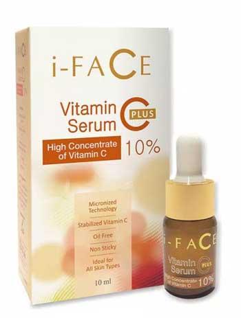Merk Serum Vitamin C Terbaik - i-Face Vitamin C Serum