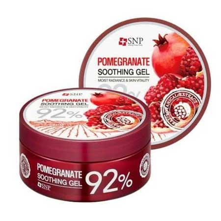 Merk Soothing Gel Terbaik Dan Bagus - SNP Pomegranate Soothing Gel