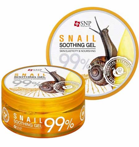 Merk Soothing Gel Terbaik Dan Bagus - SNP Snail Soothing Gel
