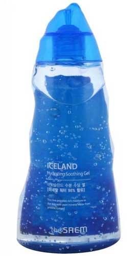 Merk Soothing Gel Terbaik Dan Bagus - The Saem Iceland Hydrating Soothing Gel
