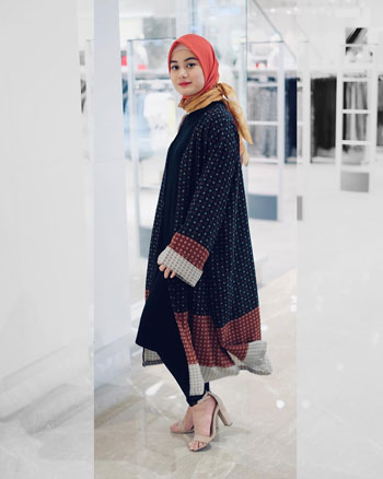 OOTD Hijab Ala Dinda Hauw