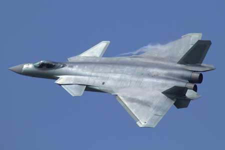 Pesawat Tempur Termahal Di Dunia - Chengdu J-20 Black Eagle