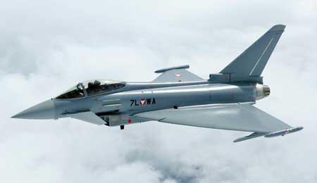 Pesawat Tempur Termahal Di Dunia - Eurofighter Typhoon