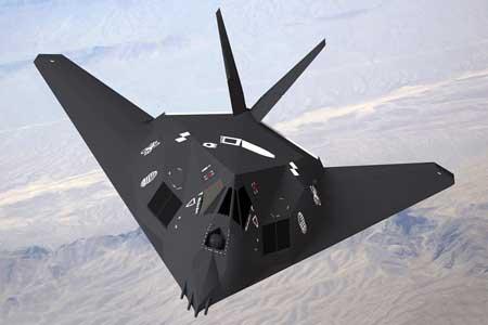 Pesawat Tempur Termahal Di Dunia - F-117 Nighthawk