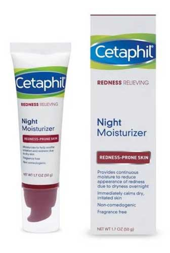 Produk Cetaphil - Cetaphil Redness Relieving Night Moisturizer