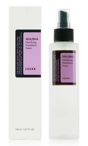Produk Kosmetik Korea Yang Bagus - Cosrx AHA BHA Clarifying Treatment Toner