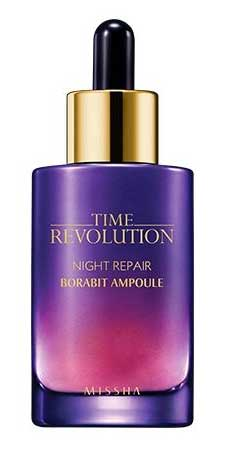 Produk Kosmetik Korea Yang Bagus - Missha Time Revolution Night Repair Ampoule