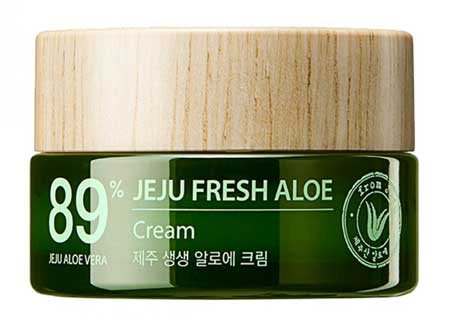 Produk Kosmetik Korea Yang Bagus - The Saem Jeju Fresh Aloe Cream