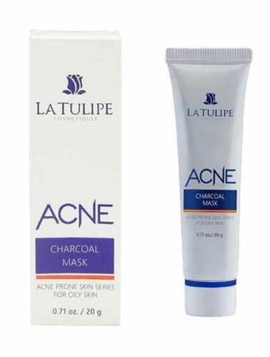 Produk Skincare La Tulipe - Acne Charcoal Mask