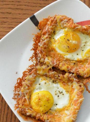 Resep Kreasi Roti Panggang Yang Mudah Dan Lezat - Roti panggang keju telur