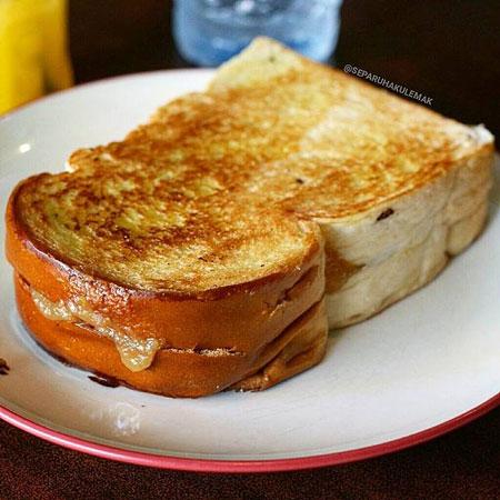 Resep Kreasi Roti Panggang Yang Mudah Dan Lezat - Roti panggang srikaya
