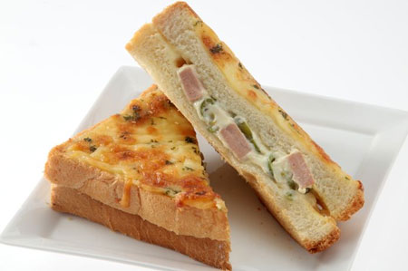 Resep Kreasi Roti Panggang Yang Mudah Dan Lezat - Roti panggang keju sosis