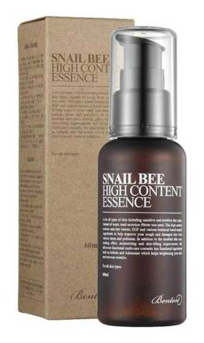 Skincare Terbaik Untuk Kulit Sensitif Dan Berjerawat - Benton Snail Bee High Content Essence